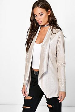 Milly Metallic Blazer