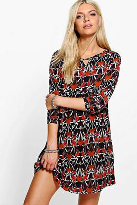 Verity Long Sleeved Shirt Dress