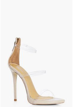 Eliza Clear 3 Band Sandal