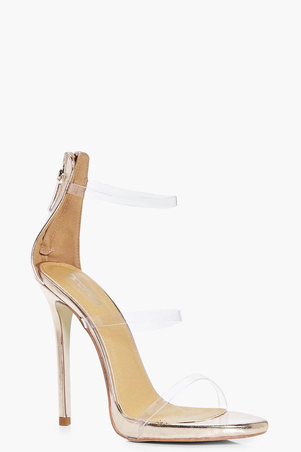 Paige Clear 3 Band Sandal