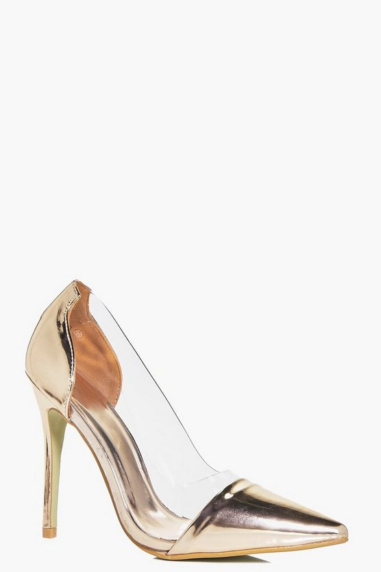 Heidi Clear Side Pointed Court