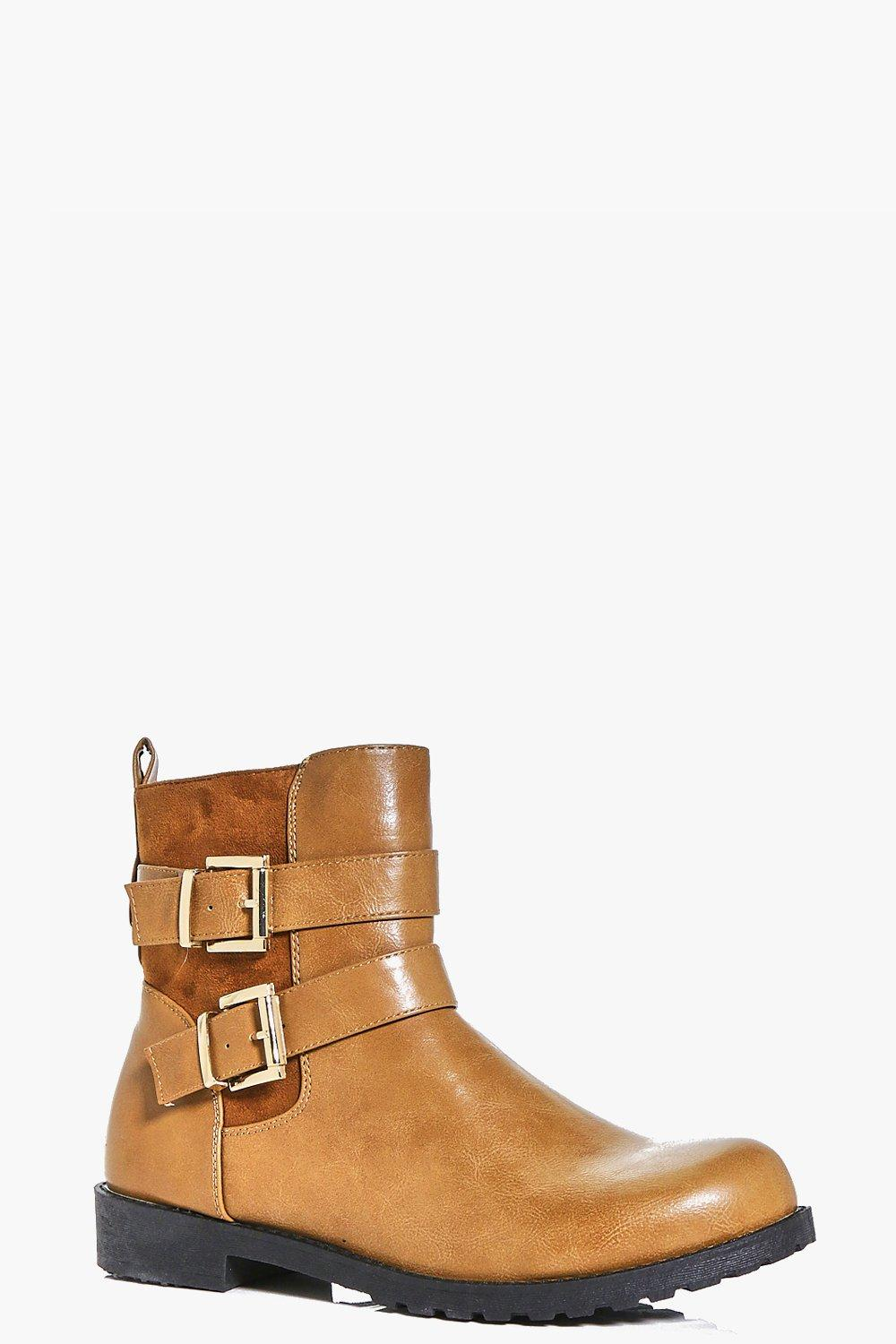 Emma Buckle Trim Ankle Boot
