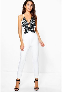 Boutique Fia Barely There Cut Out Jumpsuit