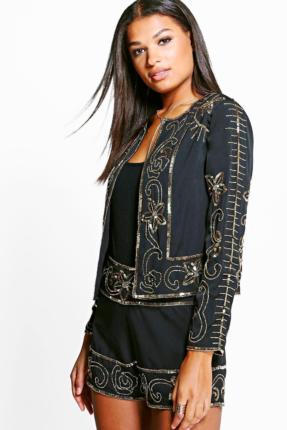 Amelia Boutique Embellished Jacket