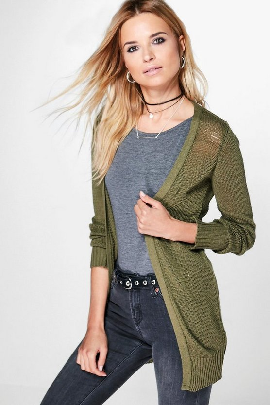 Amy Edge To Edge Long Cardigan