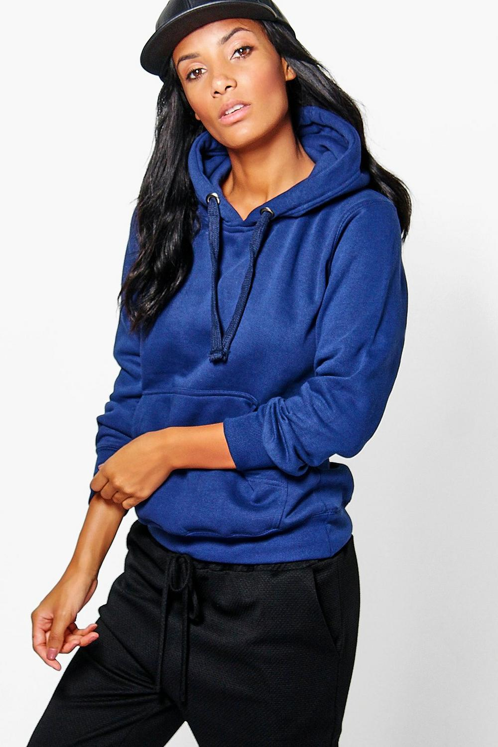 Ivy Solid Oversized Hoody