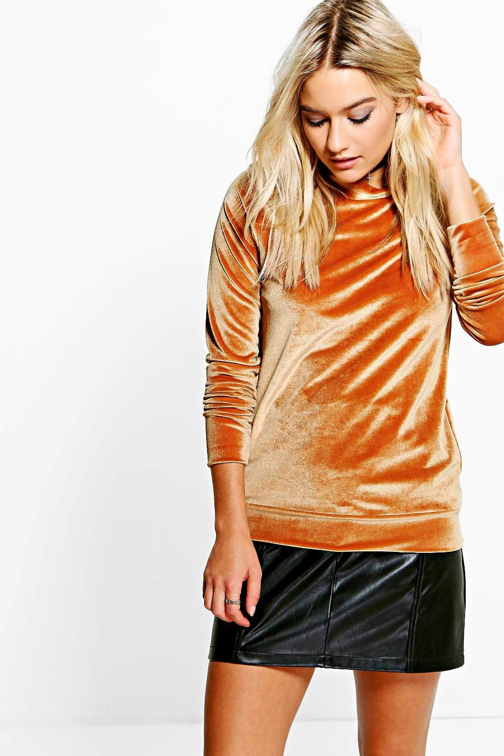 Molly Velvet Sweater