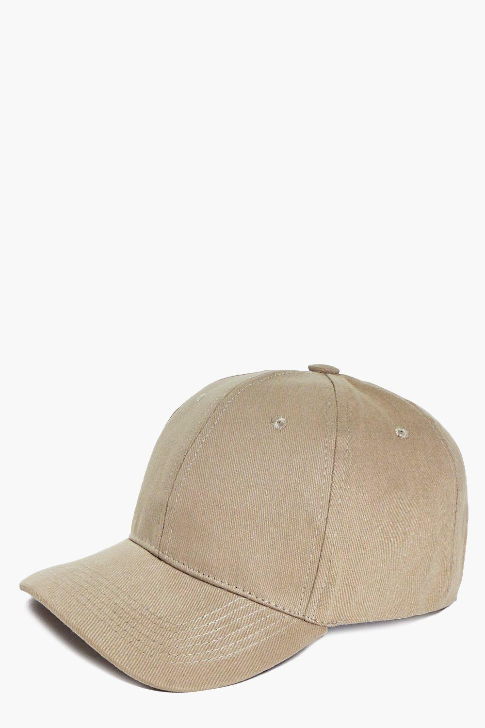 Basic Baseball Cap - beige - Stay snug in scarves