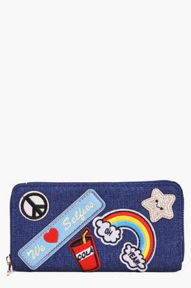 Eloise Rainbow Patch Badge Purse