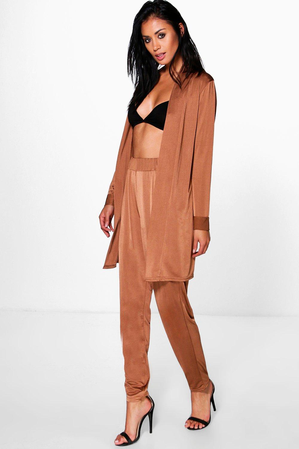 Jessica Slinky Tapered Trouser & Duster Co-Ord