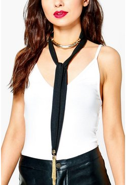 Madison Skinny Scarf Choker