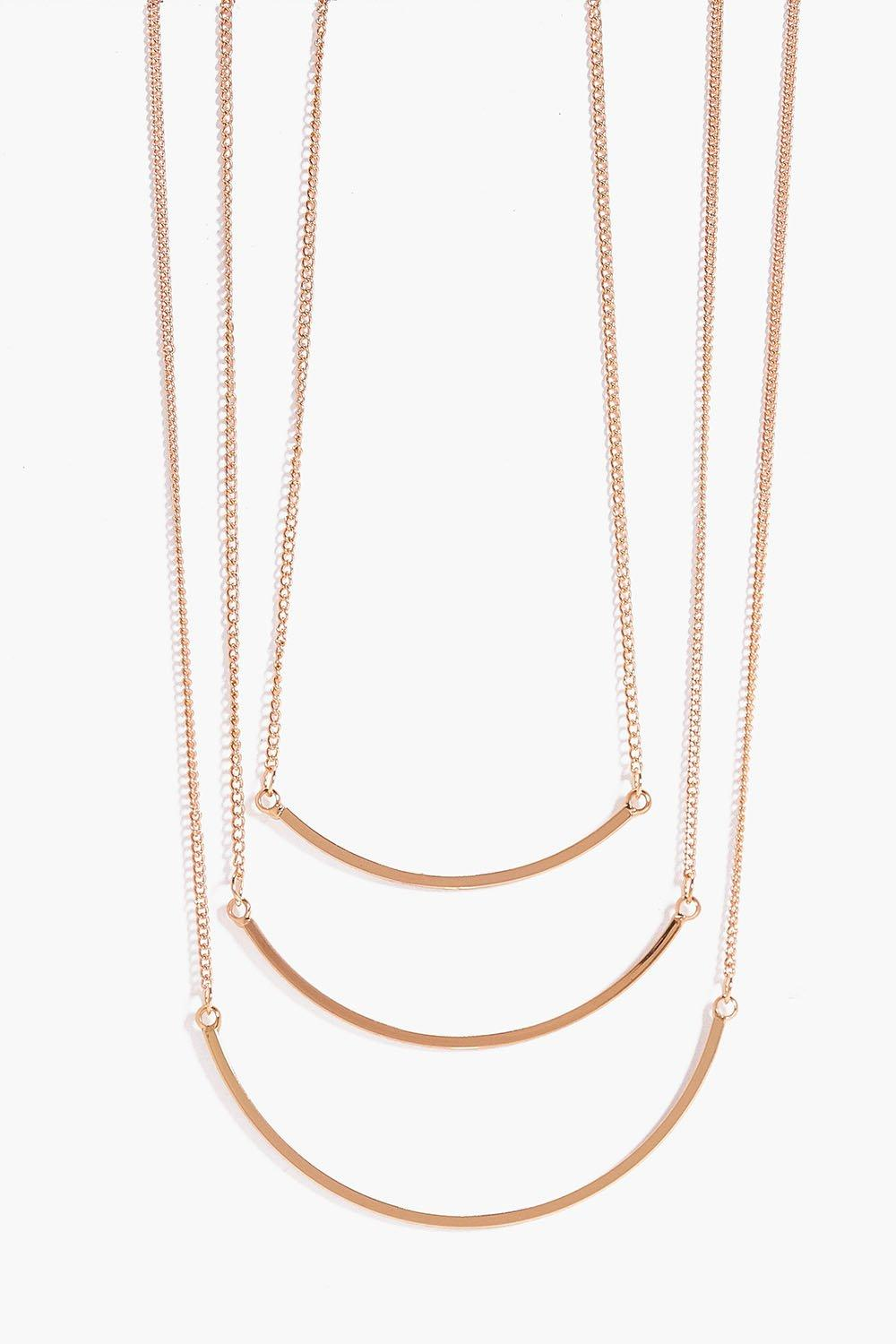 Laila Fine Bar Layered Necklace