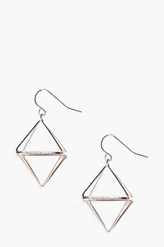 Eve Abstract Prism Earrings
