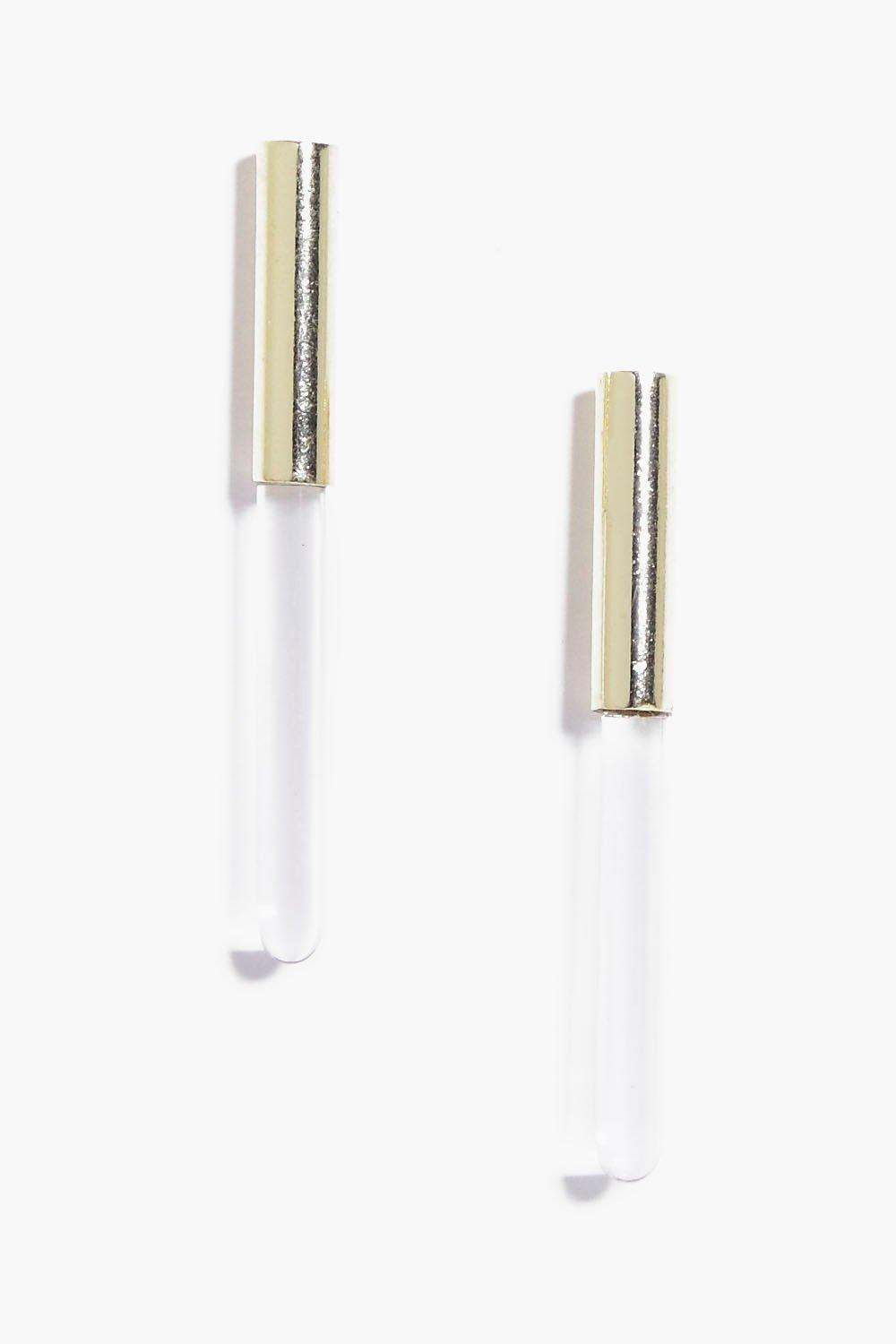 Annie Clear Bar Earrings