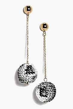 Natalia Sequin Statement Earrings