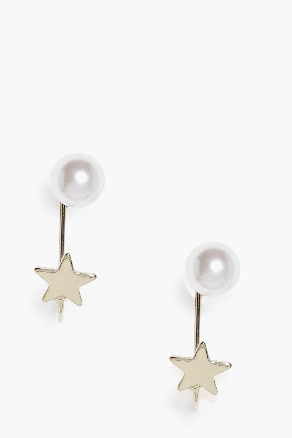 Macy Pearl Statement Earrings