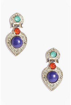 Claire Stone Set Statement Earrings
