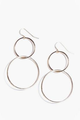 Tegan Double Hoop Earrings