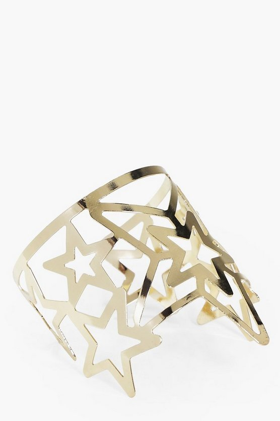 Ivy Star Detail Open Cuff