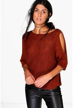 Natasha Cold Shoulder Jumper
