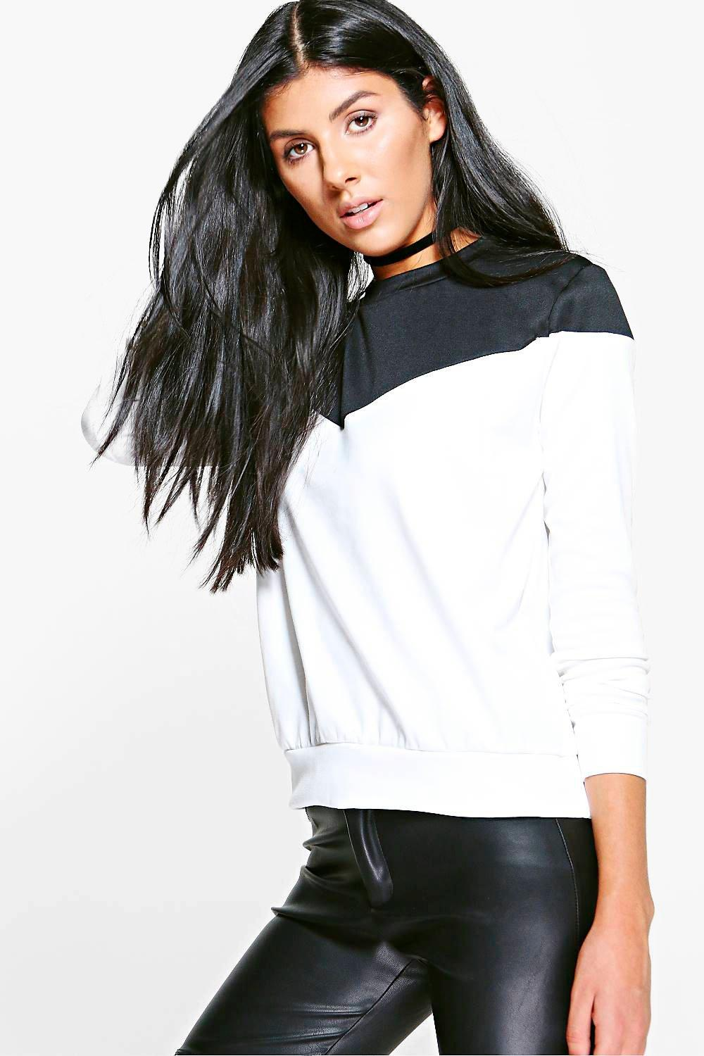 Mariam Colourblock Sweatshirt