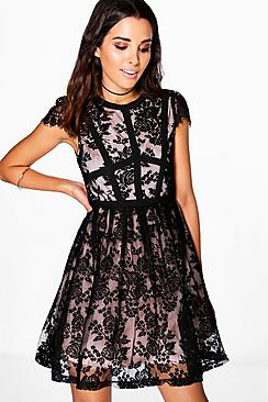 Boutique Emma Lace Corsetry Prom Dress