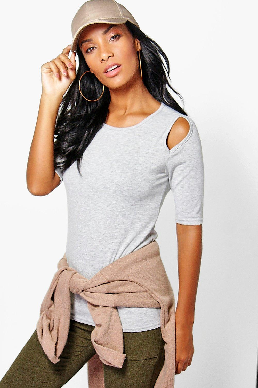 Aria Cold Shoulder T-Shirt