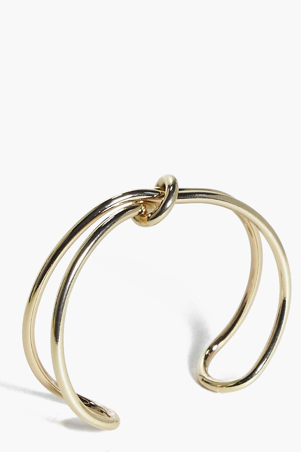 Jessica Twisted Knot Cuff
