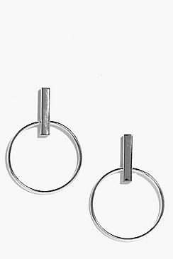 Ella Hoop Statement Earrings