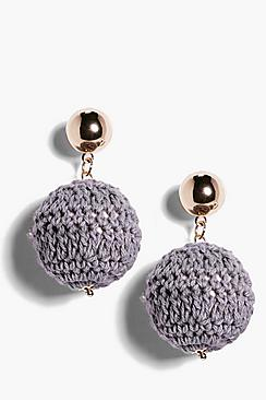 Eva Knitted Statement Earrings