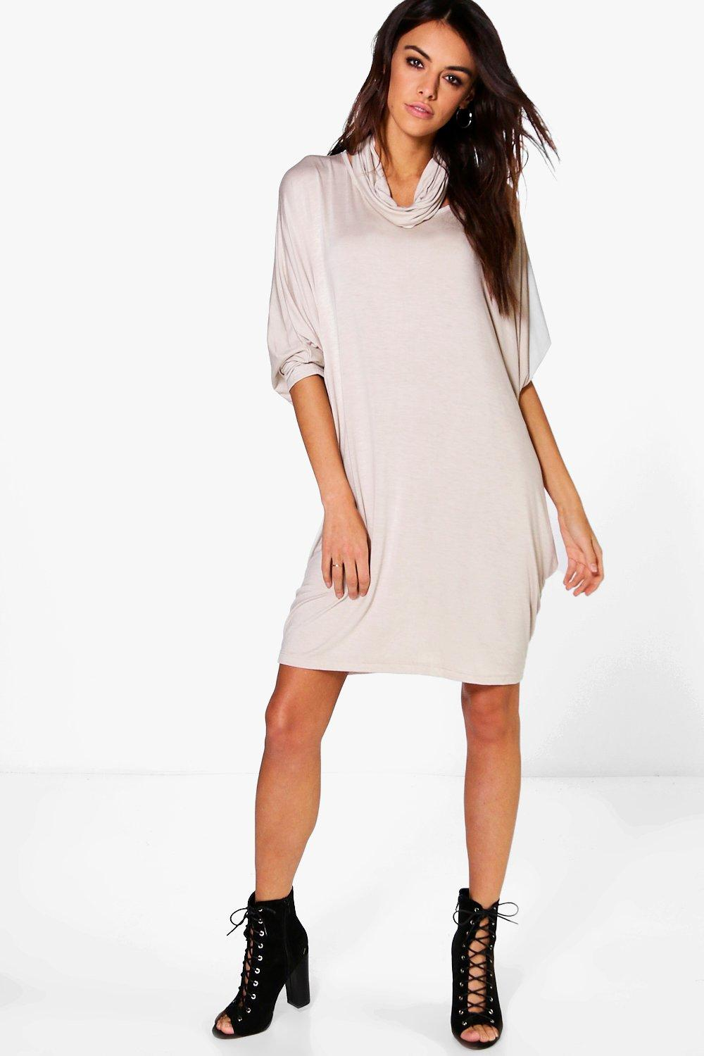 Brandi Batwing Slouchy Dress