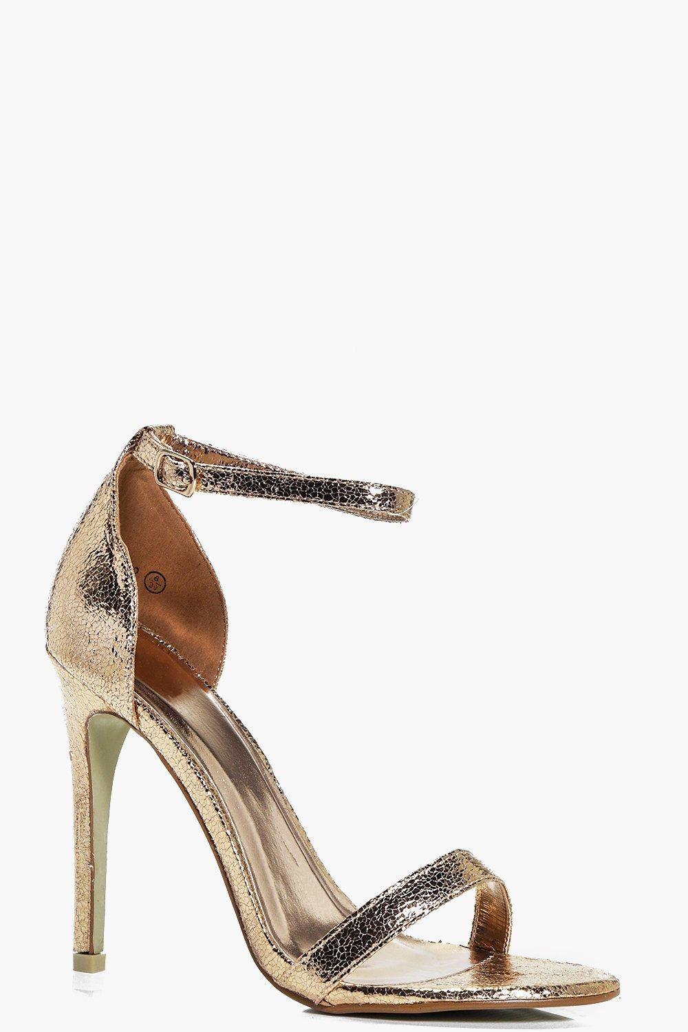 Ivy Rose Gold Two Part Heel