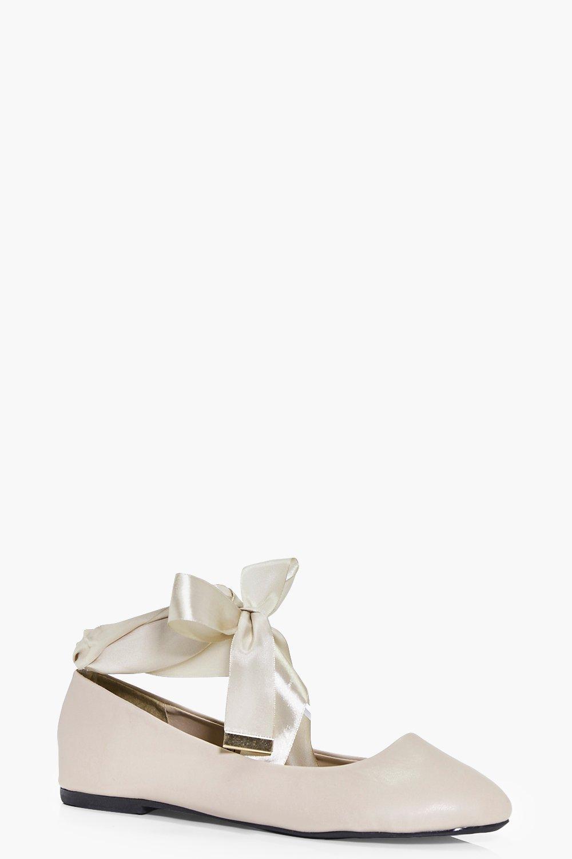 Edie Ribbon Wrap Tie Ballet