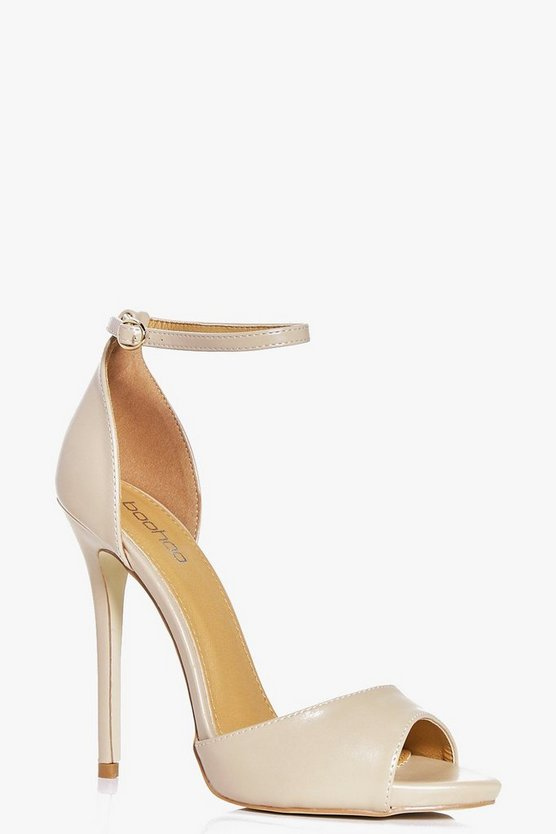 Elena Peeptoe Two Part Sandal