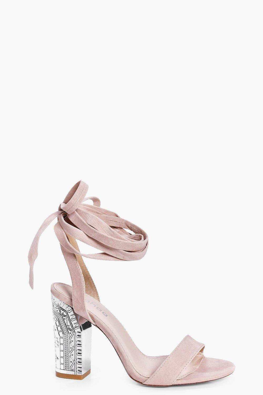 Orla Interest Heel Two Part Sandal