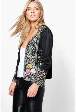 Lucy Boutique Embroidered Trophy Jacket