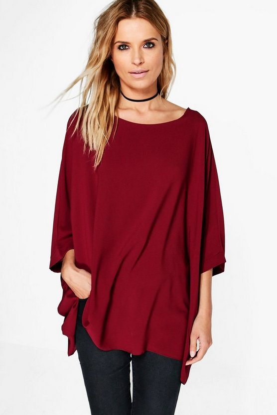 Eleanor Batwing Top