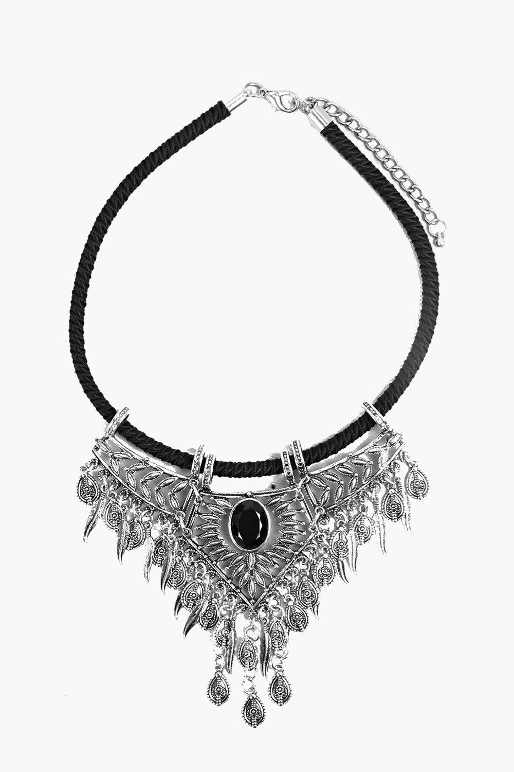 Esme Statement Stone Necklace