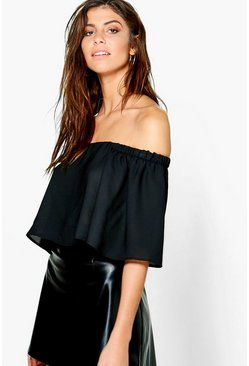 Poppy Off The Shoulder Top