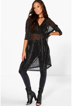 Grace Oversized Sparkle Tunic