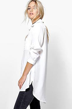 Willow Zip Through Pocket Shirt