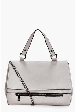 Eve Fold Over Zip Front Multiway Day Bag