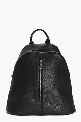 Iris Double Zip Detail Rucksack