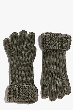 Lois Chunky Knit Gloves