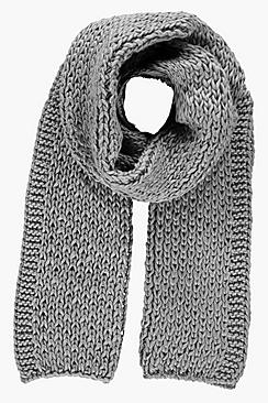 Isobel Chunky Knit Scarf