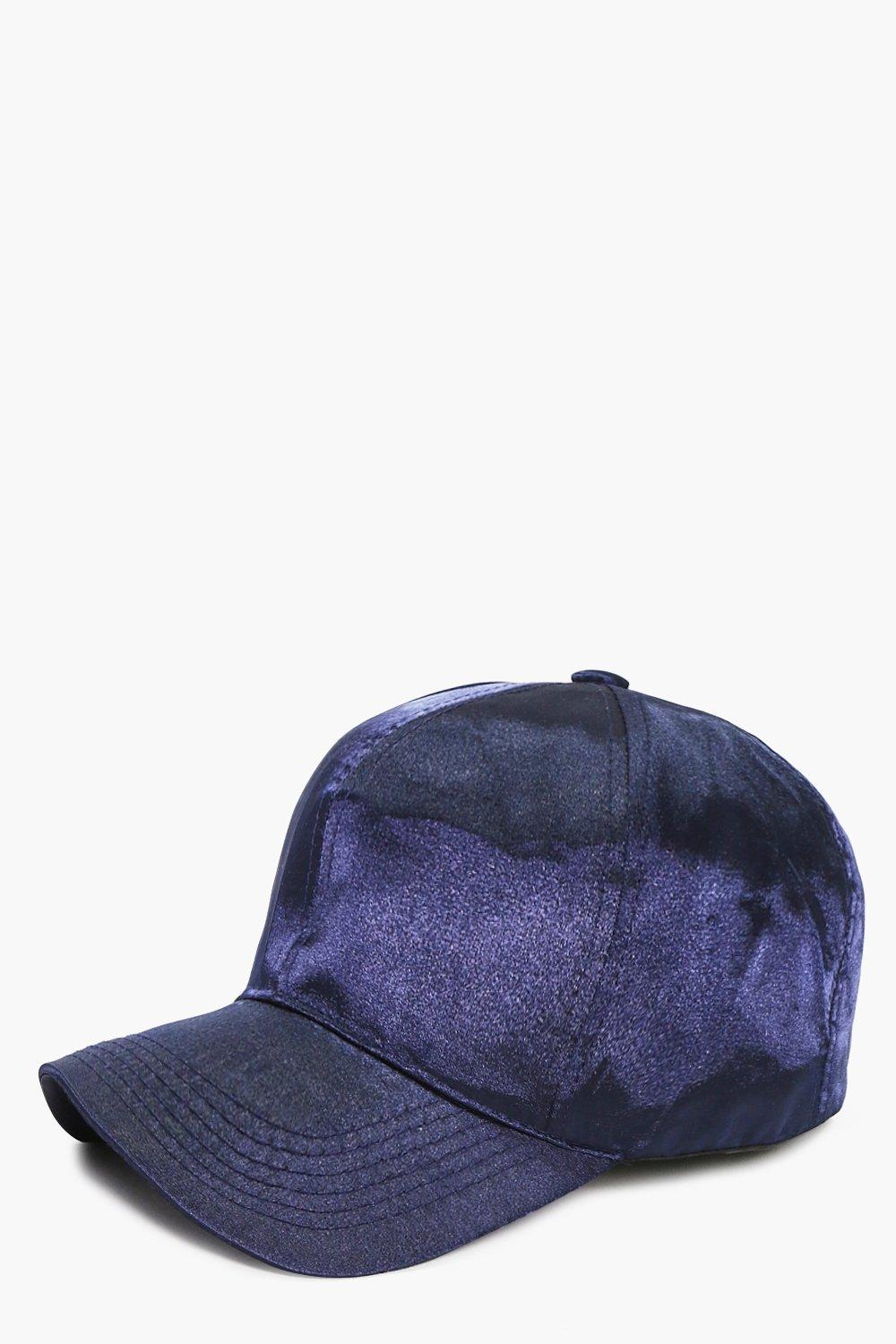 Ellie Satin Baseball Cap