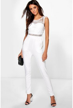 Boutique Crochet Jumpsuit