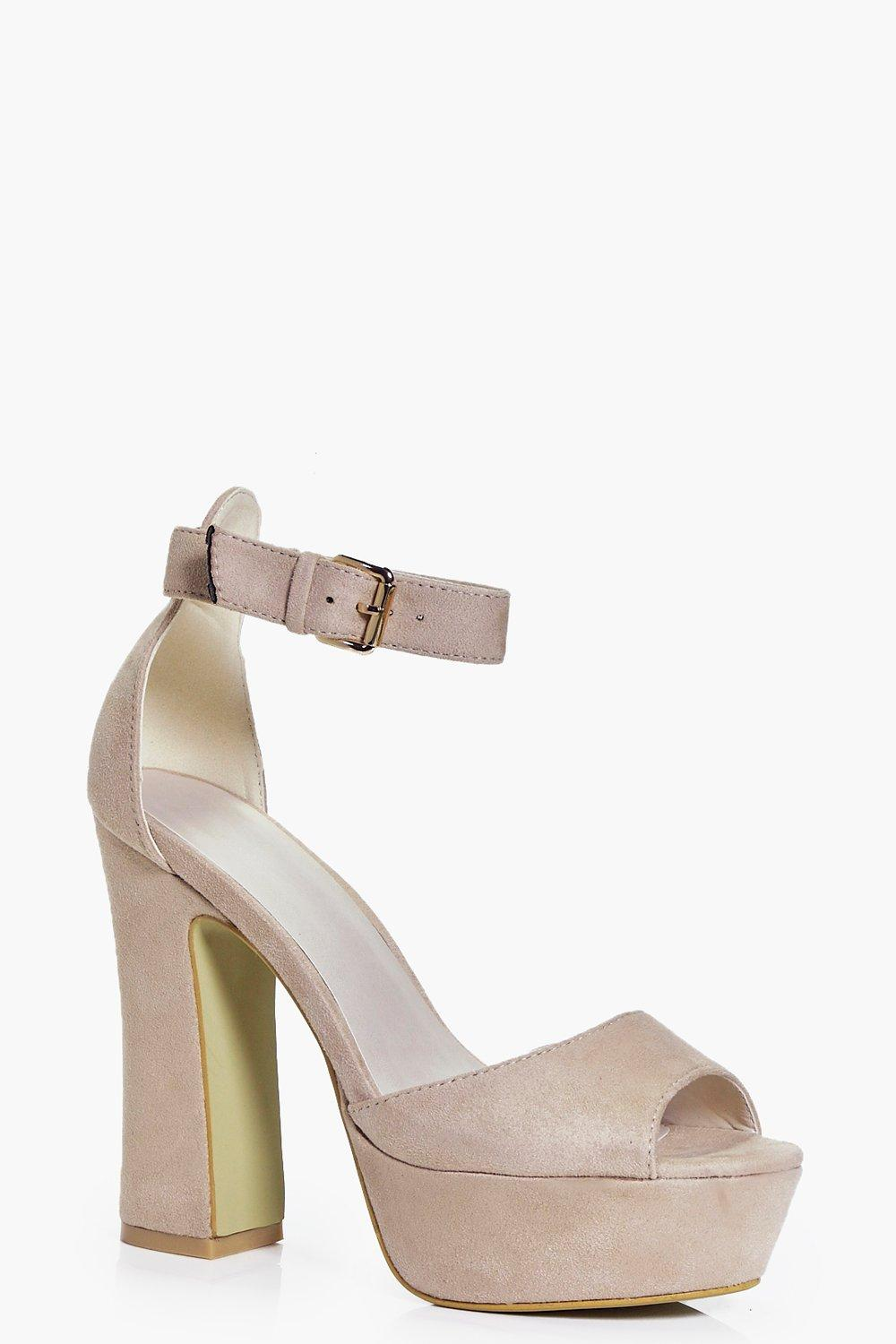 Bethany Two Part Platform Heels