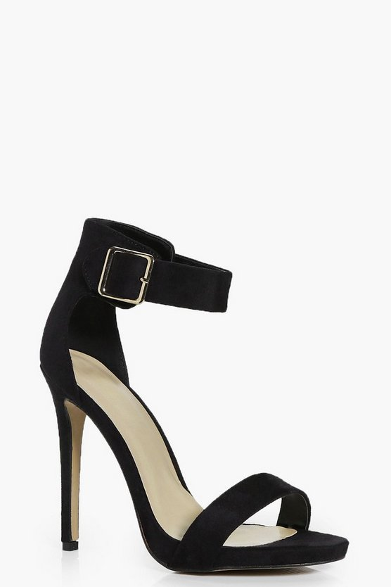 Amelia Two Part Ankle Band Heel