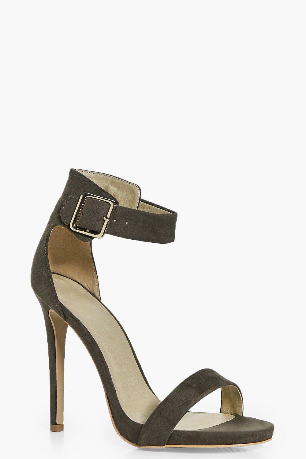 Natalia Two Part Ankle Band Heels